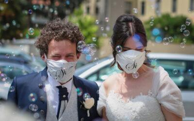 Donatella e Gabriele | Primo matrimonio post-lockdown ad Arezzo